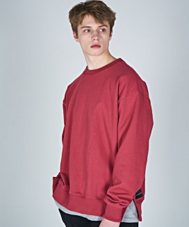 [AT THE MOMENT] Heavy Weight Oversized Sweatshirt