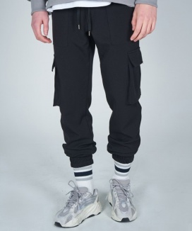 [AT THE MOMENT] Premium Banding Cargo Pants