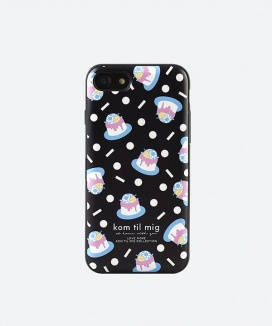 [kom til mig] THE FALLING PUDDINGS CARD CASE