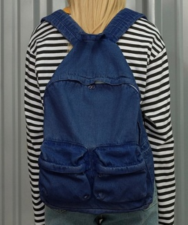 [UNALLOYED] DENIM MULTI BACKPACK