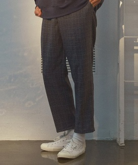 [PRAIRIE] GLEN CHECK PANTS