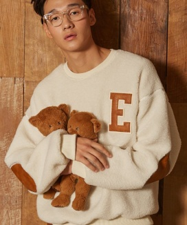 [EPICSODE] Eddy Bear Sweat Shirts(Wool Mix)