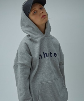 [UNHATE] OVER-FIT LOGO HOODIE