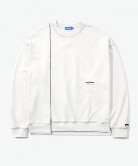 [LAYER UNION] CUT CTRS ST OVER SWEATSHIRT