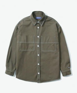 [LAYER UNION] CUT CTRS ST OVER SHIRTS