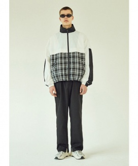 [LAYER UNION] CB CHECK OVER TRACK JACKET
