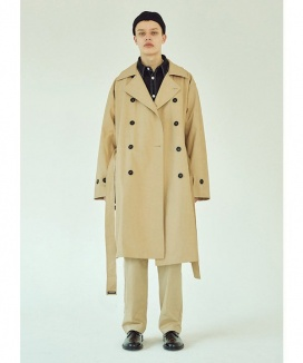 [LAYER UNION] LSA OVER TRENCH COAT