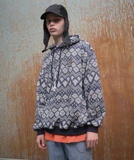 [APPARELXIT] UNISEX BANDANNA PAISLEY HOODIE