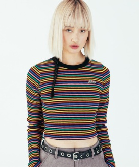 [RUNNING HIGH] RNHI SLIM CROP TEE