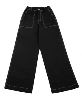 [BASIC COTTON] basic stitch pants