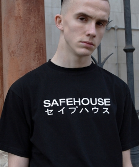 [SAFE HOUSE] safehouse logo halfsleeve t-shirt
