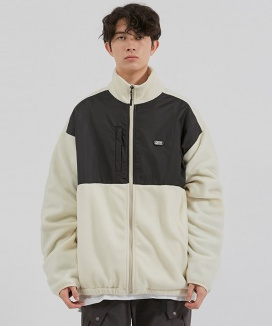[CRITIC] FLEECE ZIP-UP JACKET