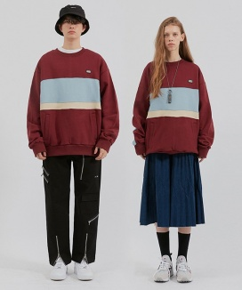 [CRITIC] RW COLOR BLOCK SWEATSHIRT