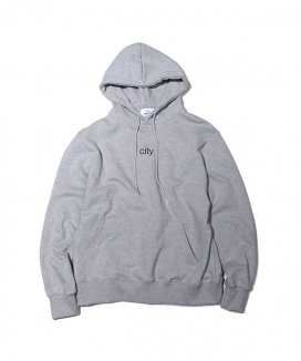 [ABOUT CITY] CITY LOGO HOODIE
