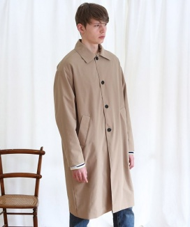 [ANOUTFIT] UNISEX SINGLE TRENCH COAT