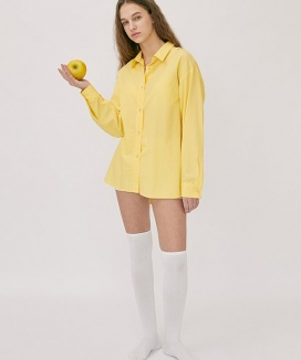 [nuissue] FRUITY COLOR BASIC SHIRTS