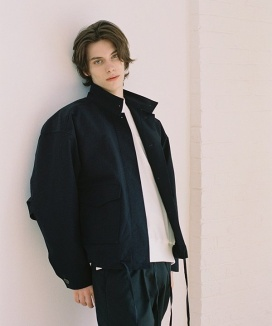 [NOMINATE] HARD TEXTURE WIND JACKET
