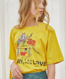 [Sorry, Too Much Love] Nellie Bly Logo Tee