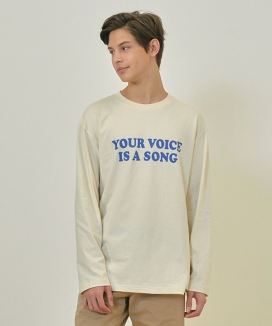 [CLIF] YOUR VOICE LONGSLEEVE TEE
