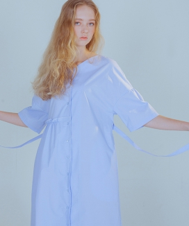 [PHILOCALY] Flow shirt dress