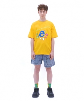 [youthbath] E - graphic short sleeve T