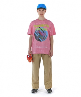 [youthbath] Tie-dye graphic short sleeve T