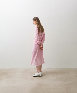 [NONLOCAL] Wave Shirring Skirts