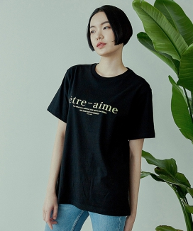 [ARTENO STUDIO] 20S REGULAR ETRE-AIME T-SHIRT