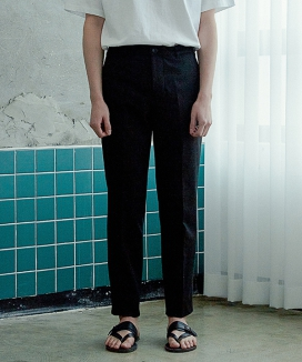 [ARTENO STUDIO] STRAIGHT COTTON PANTS
