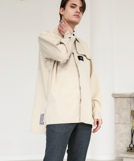 [S SY] IRON TIP TRENCH SHIRT