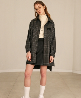 [S SY] SQUARE CHECK SHIRT