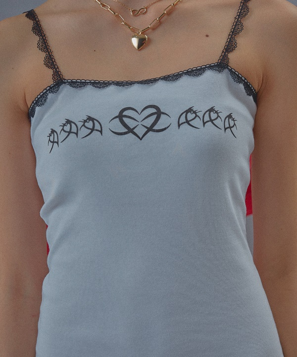 [Oct.3] Lace Corset Heart One-piece