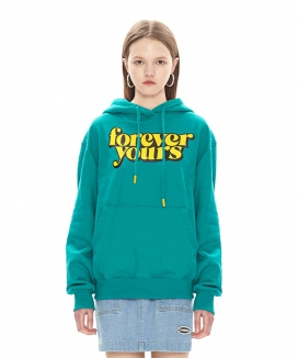 [CHARMS] FOREVER YOURS LOGO HOODY
