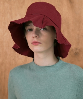 [AWESOME NEEDS] COTTON BUCKET HAT (4color)