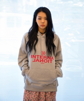 [XYZ] Unisex 'International' Hoody