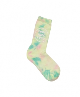 [youthbath] Tie-dye logo socks