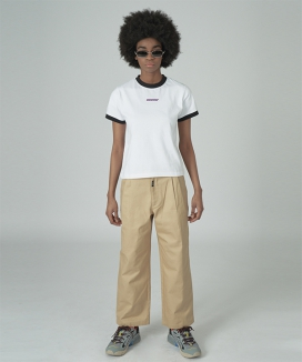 [NCOVER] Cursor point cotton pants