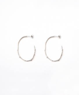 [Vi/Ve] Dot Oval Earring