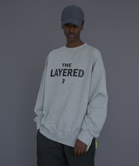 [LE2] THE LAYERED 2 SWEAT-SHIRT