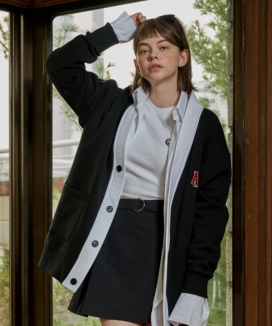 [CANLEAP] ACL OVERFIT CARDIGAN