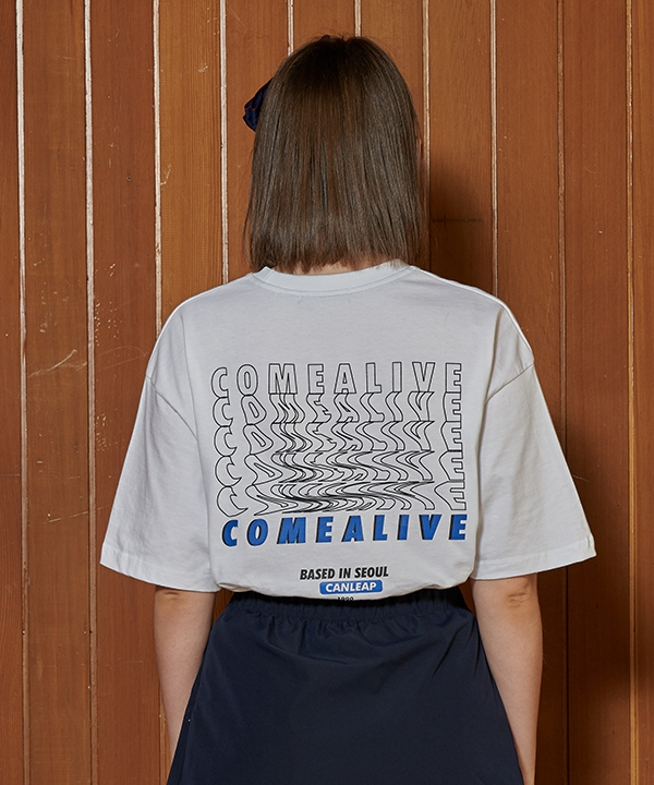 [CANLEAP] COME ALIVE OVERFIT T SHIRTS
