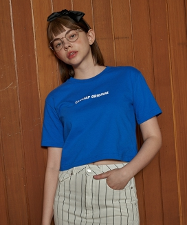 [CANLEAP] ORIGINAL OVERFIT CROP T SHIRTS