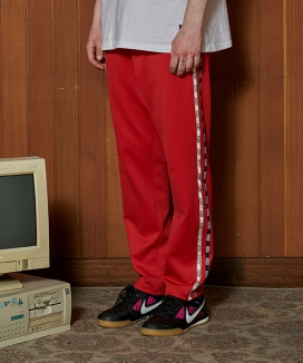 [CANLEAP] LINE TRACK PANTS