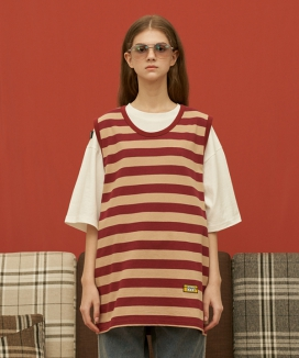 [UNALLOYED] 1993 STRIPE SLEEVELESS