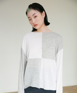 [RA VIDE] OPEN KNIT SWEATER