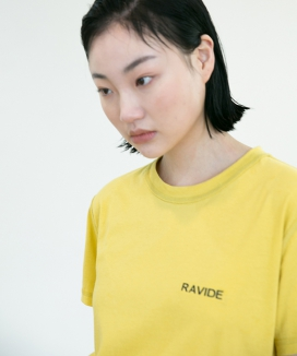 [RA VIDE] INSIDE OUT LOGO TEE