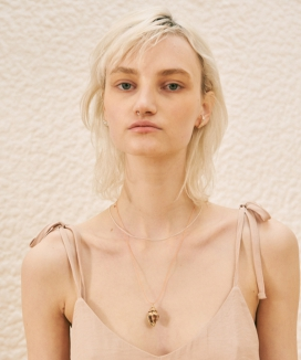 [TMO BY 13MONTH] GOLD FOIL CONCH NECKLACE