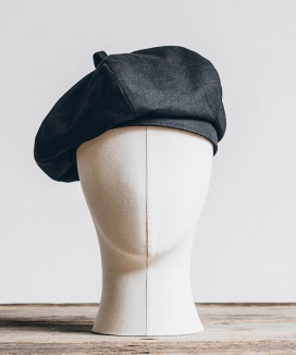 [WILD BRICKS] LINEN-COTTON BERET