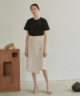 [38comeoncommon] 19SR TWO-WAY WRAP SKIRT