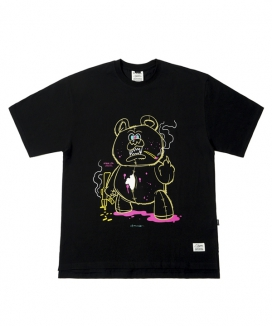 [STIGMA] BEAR GANG OVERSIZED T-SHIRTS